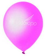 Розовый пастельный воздушный шарик